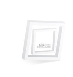 Abstract 3d frame vector