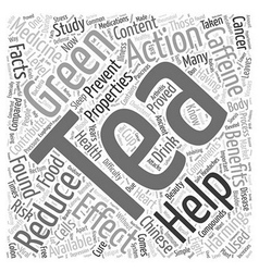 Facts you must know about your green tea word vector