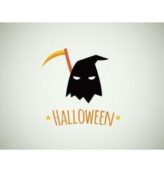 happy halloween card design vector image