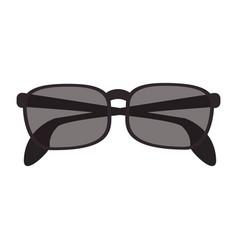 Isolate sunglasses icon image vector