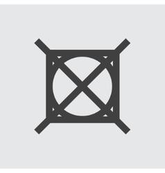 No washing icon vector image vector image