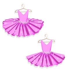 dance dress on a hanger vector image