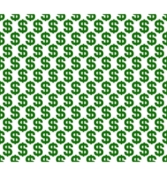 Dollar seamless pattern background vector
