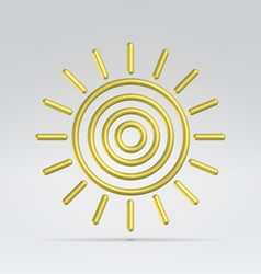 Weather sunny vector