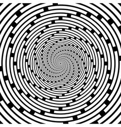 Design spiral striped backdrop vector