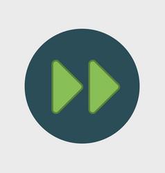 Simple arrow icon vector