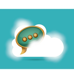 Cloud computing vector