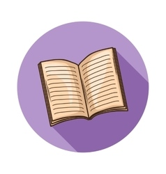 Book or magazine icon vector image