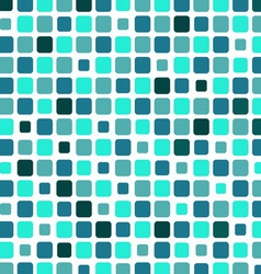 Marine square tile mosaic background vector