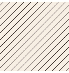 Diagonal stripped geometric seamless pattern vector