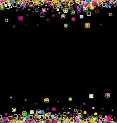 Background with geometric pattern vector image