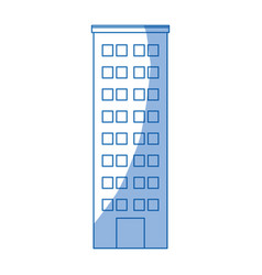 Building icon tower city architecture house vector