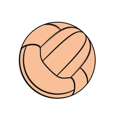 Sport voleyball ball vector