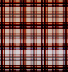 Warm fuzzy checkered chocolate abstract vector image