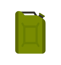 flask for gasoline icon flat style vector image