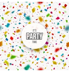 Its Party Time vector image