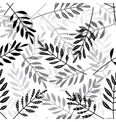 Ethnic doted leaves mix seamless pattern 02 vector