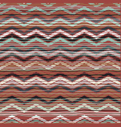 Abstract ethnic chevron print vector