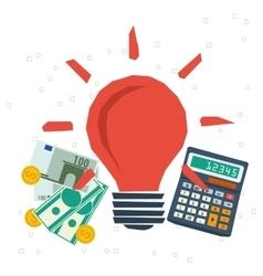 Concept monetization business idea planning vector