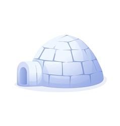 Icon igloo vector