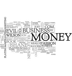 Is money evil text background word cloud concept vector
