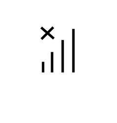 no network icon vector image vector image
