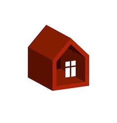 Property developer conceptual business icon real vector image