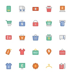 Shopping icons 8 vector