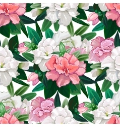 Gentle azalea pattern vector