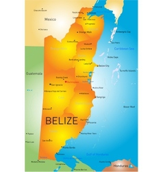 Belize vector image
