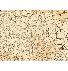 Vintage cracked background vector