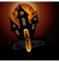 house of horror vector image