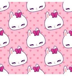 bunny 41 vector image