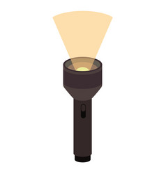 Colorful silhouette of plastic lantern tool vector