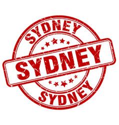 Sydney stamp vector