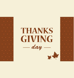 Thanksgiving day background collection stock vector