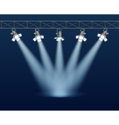 Floodlight vector