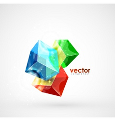 Cube mania vector