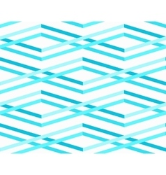 Abstract sea waves seamless pattern vector