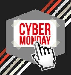 Ciber monday deals design vector
