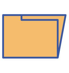 folder documents save vector image