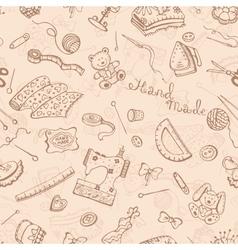 Handmade pattern vector