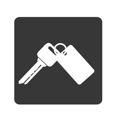 Keys car vehicle icon vector