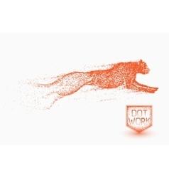 Motion of cheetah vector