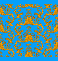 Antique victorian seamless pattern vector