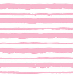 Seamless pattern with light pink stripes vector