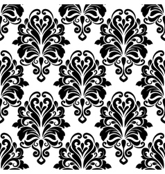 Vintage classic floral seamless pattern vector