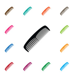 Isolated hairdressing icon grooming vector