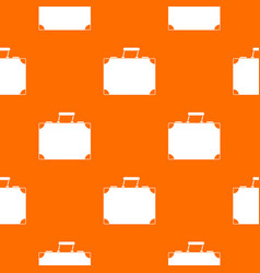 travel bag pattern seamless vector image vector image