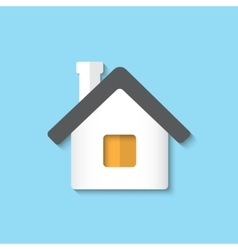 Home icon background vector